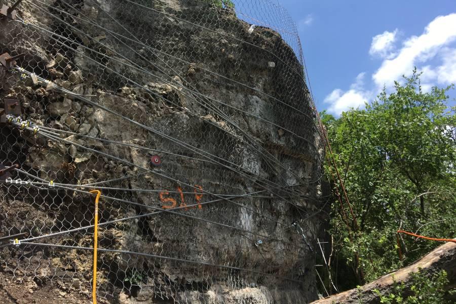 Texas Rockfall Stabilization