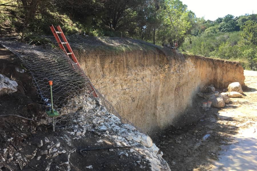 Rockfall Stabilization Texas